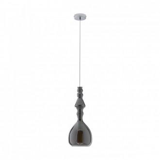 REDO 01-1083 | Ambix Redo visiace svietidlo 1x E27 dym, chróm