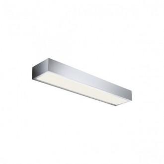 REDO 01-1130 | Horizon-RD Redo stenové svietidlo 1x LED 850lm 3000K IP44 chróm, saténový