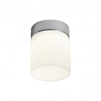 REDO 01-1134 | Drip Redo stenové, stropné svietidlo 1x LED 450lm 3000K IP44 chróm, opál