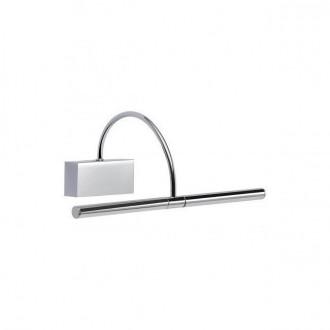 REDO 01-1135 | Kendo-RD Redo rameno stenové svietidlo otočné prvky 1x LED 495lm 3000K chróm, saténový nike