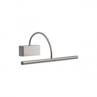 REDO 01-1136 | Kendo-RD Redo rameno stenové svietidlo otočné prvky 1x LED 495lm 3000K chróm, saténový nike