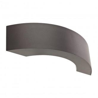 REDO 9903 | Eclipse-RD Redo rameno stenové svietidlo 3x LED 238lm 2850-3000K IP54 tmavošedá, saténový