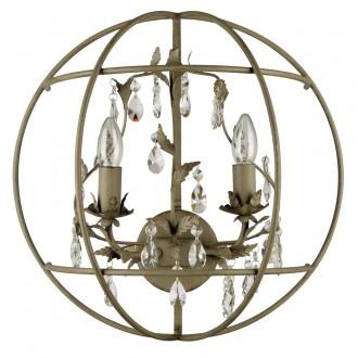 REGENBOGEN 104021902 | Jester Regenbogen rameno stenové svietidlo 2x E14 krištáľ