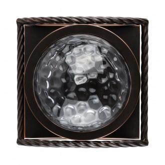 REGENBOGEN 104022901 | Jester Regenbogen stenové svietidlo 1x E27 645lm kávová, priesvitné