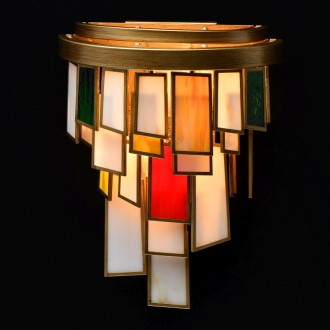 REGENBOGEN 185021002 | Morocco Regenbogen rameno stenové svietidlo 2x E14 860lm starožitná zlata, viacferebné