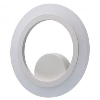REGENBOGEN 661024401 | Plattling Regenbogen stenové svietidlo kruhový 1x LED 1350lm 4000K biela, opál