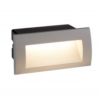 SEARCHLIGHT 0662GY | Ankle Searchlight zabudovateľné svietidlo 1x LED 90lm 4000K IP65 sivé, čierna, morené