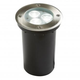 SEARCHLIGHT 2505WH | Walkover Searchlight zabudovateľné svietidlo Ø110mm 3x LED 240lm 6000K IP67 chróm, priesvitné
