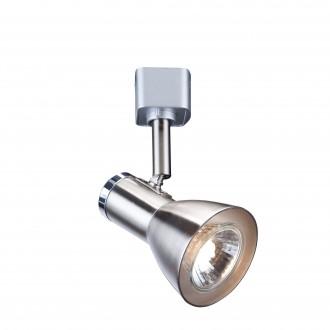 SEARCHLIGHT 3709SS | SpoT-and-Track Searchlight spot svietidlo otočné prvky 1x GU10 saténové striebro, chróm