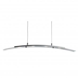 SEARCHLIGHT 5064-4SS | Bar-Lights Searchlight visiace svietidlo 1x LED 1620lm 3000K strieborný, priesvitné