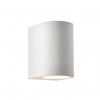 SEARCHLIGHT 8436 | GypsumS Searchlight stenové svietidlo maľovateľná plocha 1x G9 biela