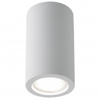 SEARCHLIGHT 9273 | GypsumS Searchlight stropné svietidlo maľovateľná plocha 1x GU10 biela
