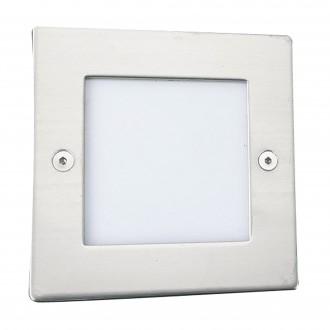 SEARCHLIGHT 9907WH | Ankle Searchlight zabudovateľné svietidlo 1x LED 14lm 6500K IP54 biela, opál
