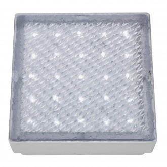 SEARCHLIGHT 9913WH | Walkover Searchlight zabudovateľné svietidlo 150x150mm 1x LED 60lm 7000K IP68 priesvitné