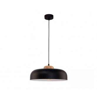 TK LIGHTING 2376   Steel Tk Lighting visiace svietidlo 1x E27 čierna, biela