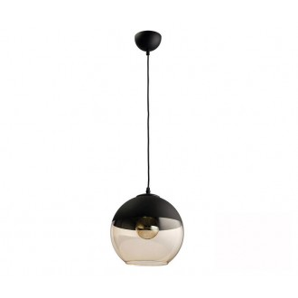TK LIGHTING 2380 | Amber-TK Tk Lighting visiace svietidlo vedenie je možné zkrátiť 1x E27 čierna, dym