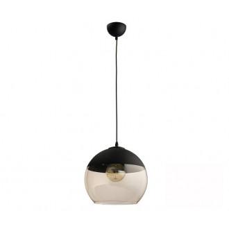 TK LIGHTING 2381 | Amber-TK Tk Lighting visiace svietidlo vedenie je možné zkrátiť 1x E27 čierna, dym