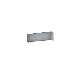 TRIO 271970611 | Lugano-TR Trio rameno stenové svietidlo prepínač 1x LED 580lm 3000K matný nikel, sivé
