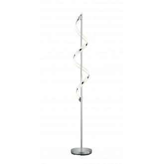 TRIO 472910106 | Sydney-TR Trio stojaté svietidlo 162cm prepínač s reguláciou svetla regulovateľná intenzita svetla 1x LED 1800lm 3000K chróm