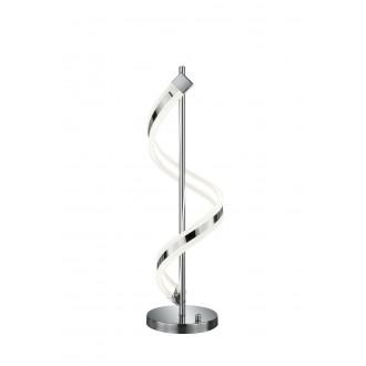 TRIO 572910106 | Sydney-TR Trio stolové svietidlo 63cm prepínač s reguláciou svetla regulovateľná intenzita svetla 1x LED 1300lm 3000K chróm