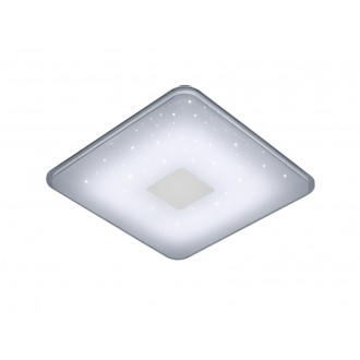 TRIO 628613001 | Samurai-TR Trio stropné svietidlo diaľkový ovládač na diaľkové ovládanie, regulovateľná intenzita svetla 1x LED 2400lm 3000 <-> 5500K biela