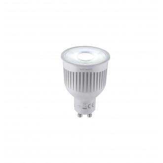 TRIO 956-88 | GU10 6,5W Trio LED svetelný zdroj WiZ 360lm 2200 <-> 6500K regulovateľná intenzita svetla, meniace farbu diaľkový ovládač