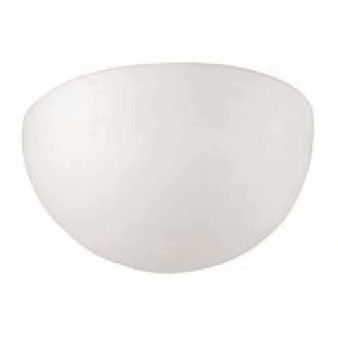 VIOKEF 305400 | Aris-VI Viokef stenové svietidlo 1x E27 matný opál, biela