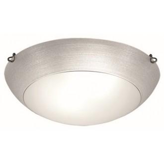 VIOKEF 3056501 | Marcela Viokef stropné svietidlo 2x E27 strieborný, matný biely, antický