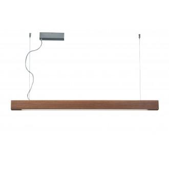 VIOKEF 3089700 | Avenue-VI Viokef visiace svietidlo 1x LED 5000lm 3000K drevo, hnedá