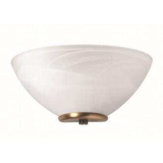 VIOKEF 330204 | Electra-VI Viokef stenové svietidlo 1x E14 biela, antický, alabaster