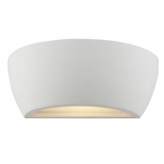 VIOKEF 4004301   Ceramic-VI Viokef stenové svietidlo malovatelné 1x E27 biela