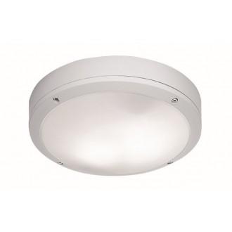 VIOKEF 4049201 | Leros Viokef stropné svietidlo 2x E27 IP44 biela, opál