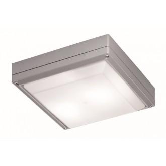 VIOKEF 4049300 | Leros Viokef stropné svietidlo 2x E27 IP44 sivé, opál