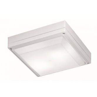 VIOKEF 4049301 | Leros Viokef stropné svietidlo 2x E27 IP44 biela, opál