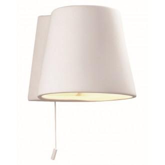 VIOKEF 4075300   Ceramic-VI Viokef stenové svietidlo malovatelné 1x E14 biela
