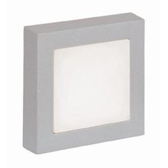 VIOKEF 4079900 | Leros/-Mare Viokef stenové svietidlo 9x LED 60lm 3000K IP44 sivé, biela