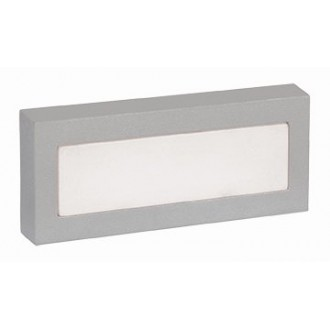 VIOKEF 4080000 | Leros-/Mare Viokef stenové svietidlo 18x LED 120lm 3000K IP44 sivé, biela