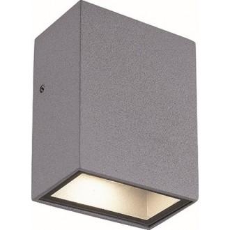 VIOKEF 4087600 | Tech Viokef stenové svietidlo 1x LED 225lm 3000K IP44 sivé, biela