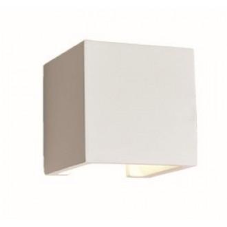 VIOKEF 4096900   Ceramic-VI Viokef stenové svietidlo malovatelné 1x G9 biela