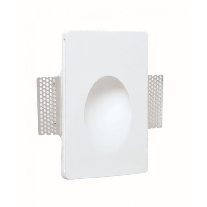 VIOKEF 4116500 | Aster-VI Viokef zabudovateľné svietidlo malovatelné 1x LED 75lm 3000K biela