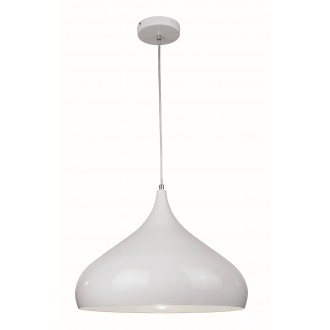 VIOKEF 4117701 | Convex Viokef visiace svietidlo 1x E27 biela