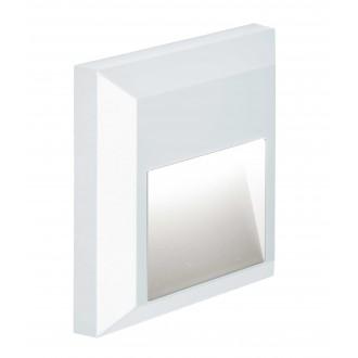 VIOKEF 4137801 | Leros-Plus Viokef stenové svietidlo 1x LED 112lm 3000K IP44 biela