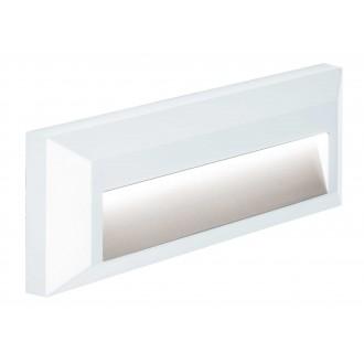 VIOKEF 4138101 | Leros-Plus Viokef stenové svietidlo 1x LED 112lm 3000K IP44 biela