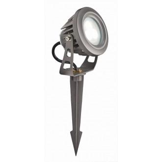 VIOKEF 4143600 | Tech Viokef svetlomet, zapichovacie svietidlo otočné prvky 1x LED 540lm 3000K IP65 sivé
