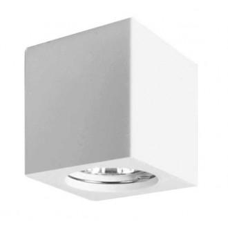 VIOKEF 4160700 | Phenix Viokef stenové svietidlo malovatelné 1x GU10 biela