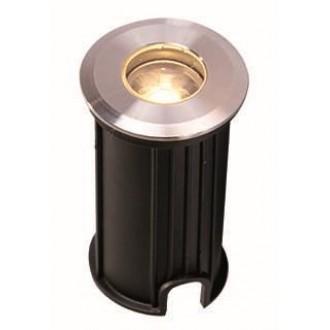 VIOKEF 4186700 | Lotus-VI Viokef zabudovateľné svietidlo Ø42mm 1x LED 110lm 3200K IP67 strieborný, čierna