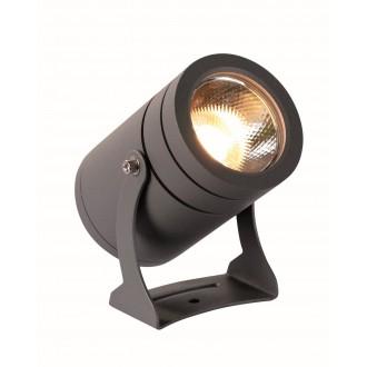 VIOKEF 4187600 | Maris-VI Viokef svetlomet, zapichovacie svietidlo otočné prvky 1x LED 1080lm 3000K IP65 tmavošedá