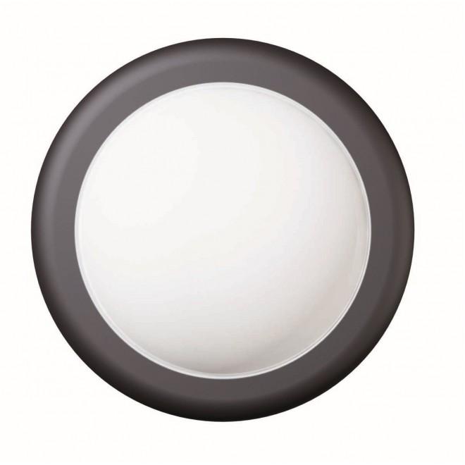 VIOKEF 4189500 | Minos Viokef stenové svietidlo 1x LED 400lm 3000K IP54 čierna, biela