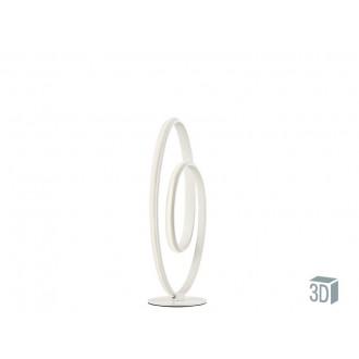 VIOKEF 4202200 | Cozi Viokef stolové svietidlo 52cm 1x LED 960lm 3000K biela