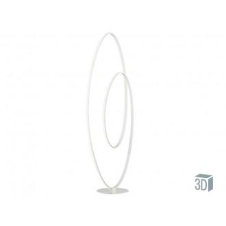 VIOKEF 4202300 | Cozi Viokef stojaté svietidlo 120cm prepínač 1x LED 1920lm 3000K biela